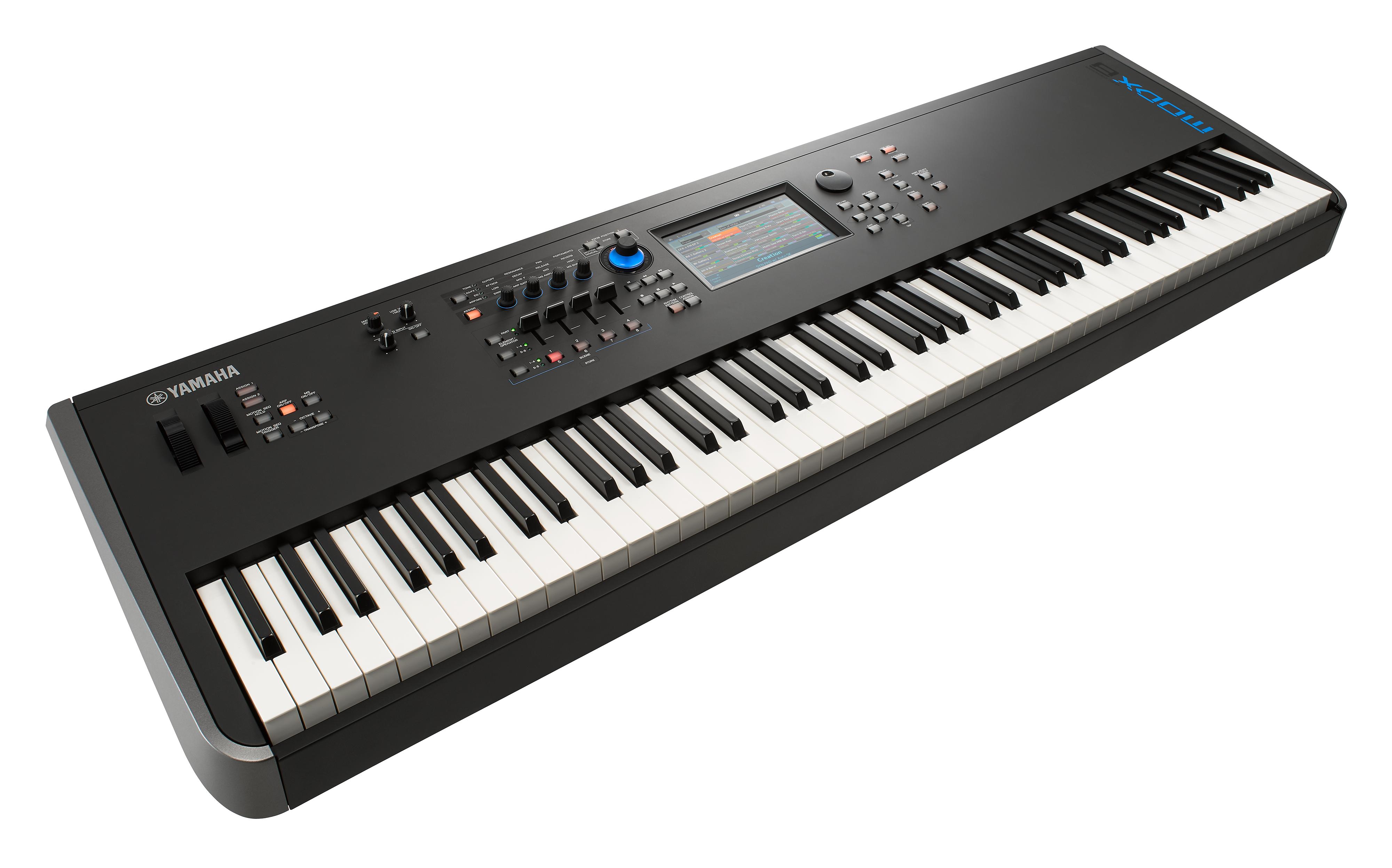 Lahka, kompaktna in zanesljiva električna klaviatura