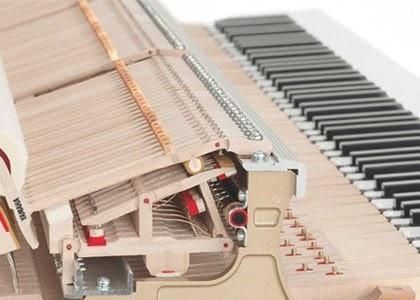 Mehanizem udarjanja kladivc v klavirju