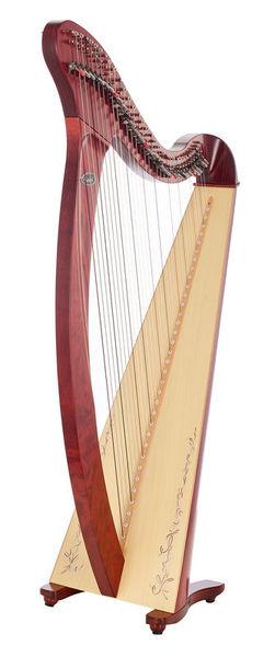 Harfa Saldon-DXMKP Donegal Mahogany Salvi