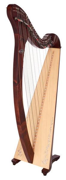 Harfa Saldon-DXNKP Donegal Walnut Salvi