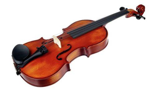 Violinski set: violina 4/4 s kovčkom in lokom Student III Startone