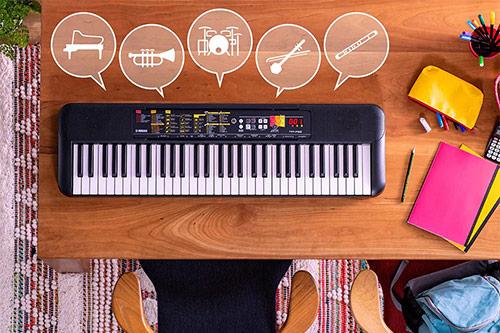 Električna klaviatura Yamaha F-52